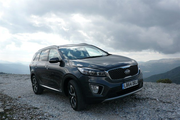 KIA Sorento 2015 F34 6 Mountain