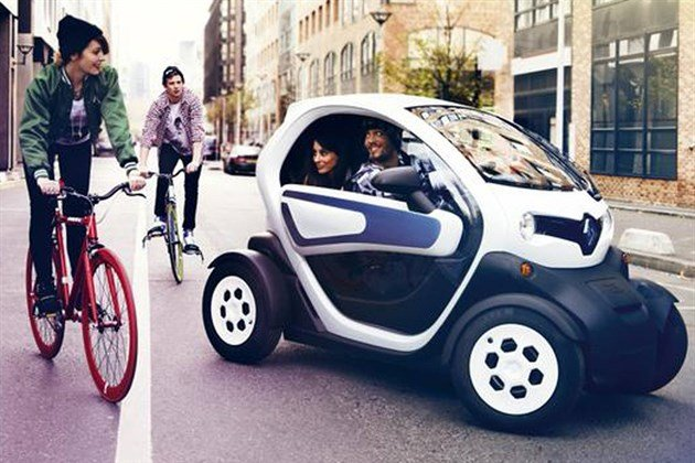 Renault Twizy 45 With Kids