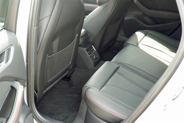 Audi RS3 Rear Seats