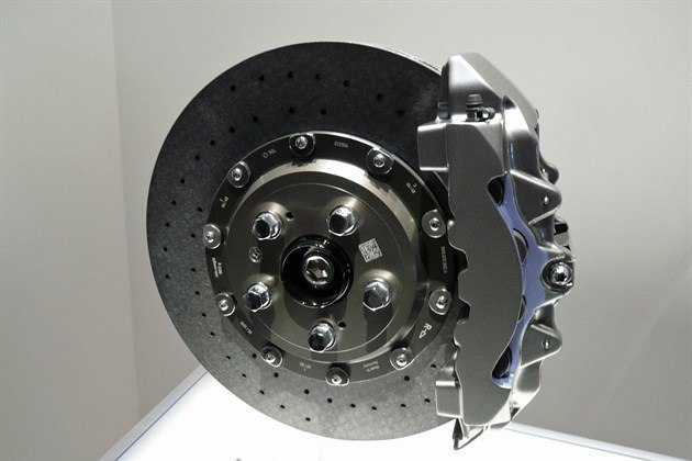 Aud RS3 Carbo Ceramic Brake Disc