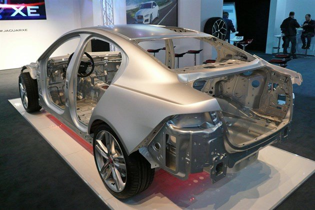 Jaguar XE Body Structure
