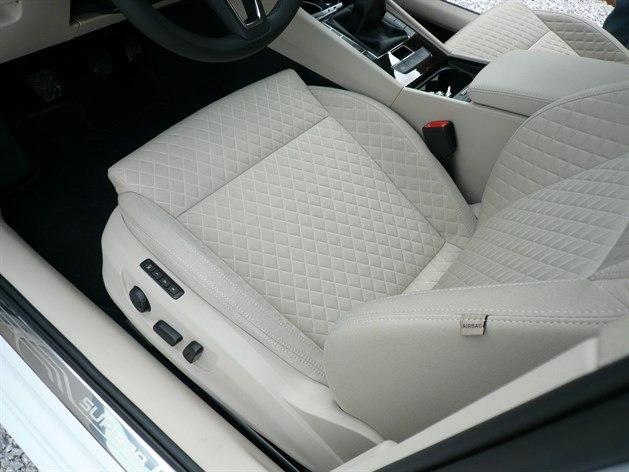 Skoda Superb 2015 Pleated Seat