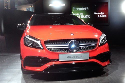 Mercedes Benz AMG 45 4Matic 2016 Front