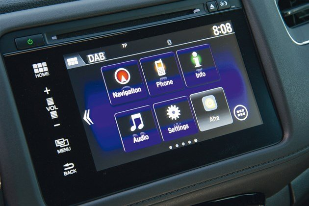 Honda HRV 2015 Screen Modes