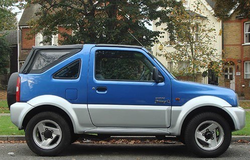 Suz Jimny Softop Side 700