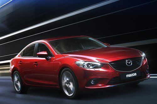 Mazda 6 2013 F34 Moscow