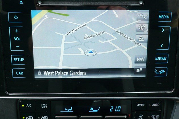 Toyota Auris Tourer Satnav Screen