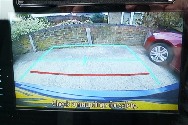 Toyota Auris Tourer Camera Screen