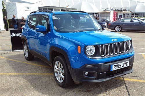 Jeep Renegade 4WD F34 Blue