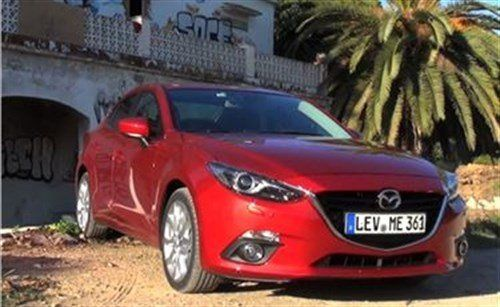 Mazda 3 Skyactiv F34 From Video
