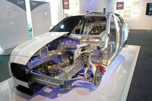 Jaguar XF 2015 Construction