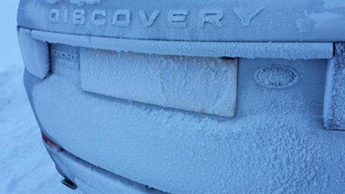 Landrover Discovery Sport Frozen