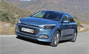 la nuova Hyundai i20 in Stilcar SpA