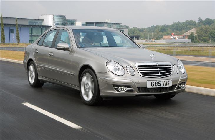 Mercedes benz e class w211 2002 car review honest john for 2002 mercedes benz e320 review