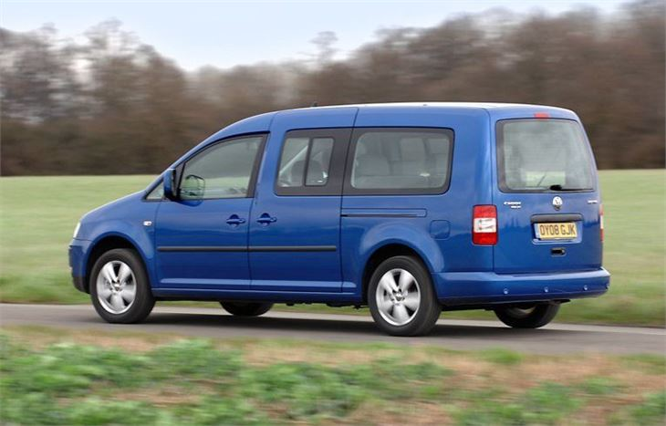 volkswagen caddy maxi life 2008 car review honest john. Black Bedroom Furniture Sets. Home Design Ideas