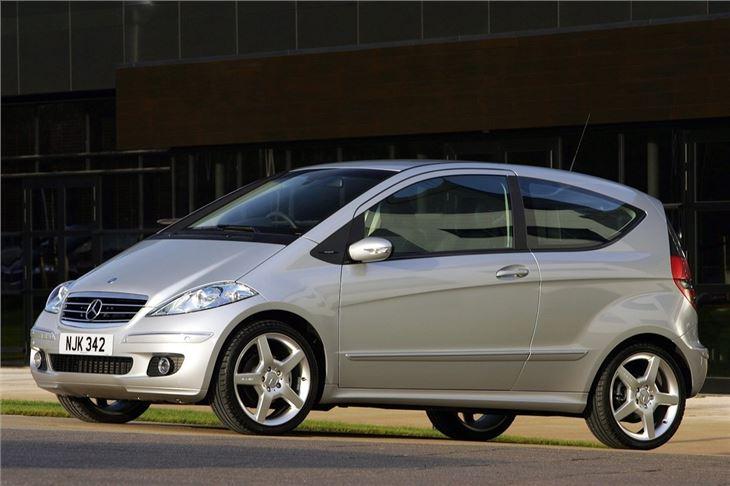 mercedes benz a class w169 2005 car review honest john. Black Bedroom Furniture Sets. Home Design Ideas