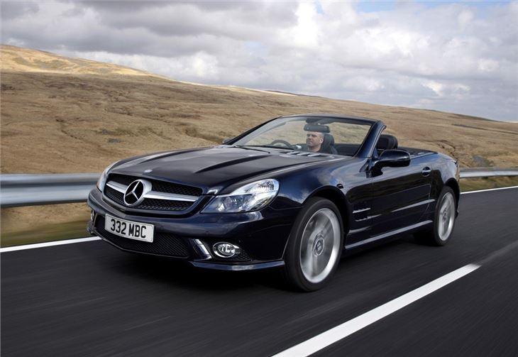 Mercedes benz sl r230 2008 car review honest john for Mercedes benz model history