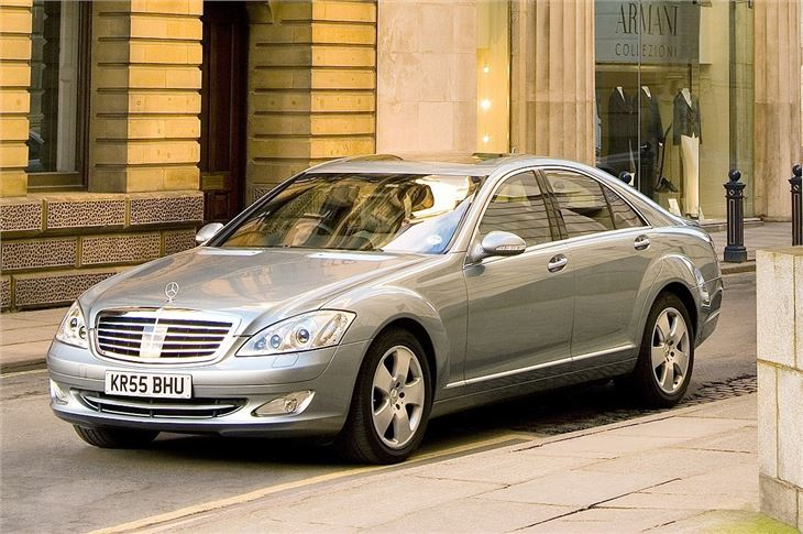 Mercedes benz s class w221 2006 car review honest john for 2006 mercedes benz s55 amg for sale