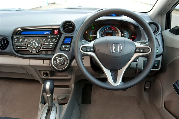 Insight Car Interior Honda Insight The Car