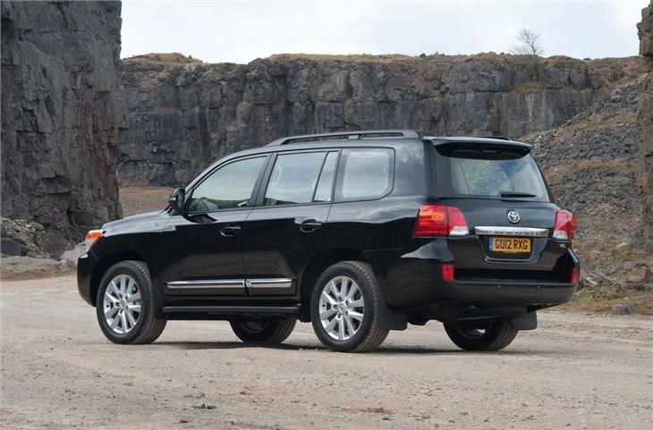 toyota land cruiser v8 2008 car review honest john. Black Bedroom Furniture Sets. Home Design Ideas