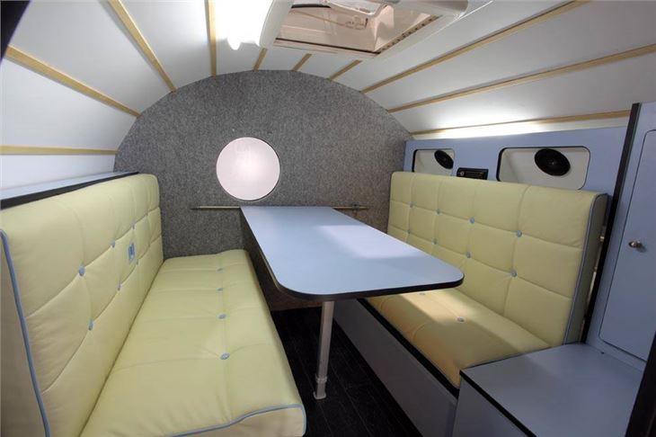 Danbury Launches Celebration Edition T2 Camper and Teardrop Caravan | Motoring News | Honest John