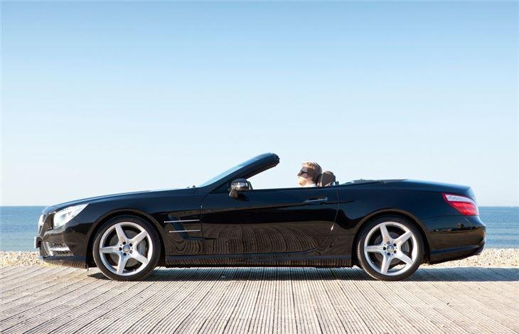 Mercedes benz sl r231 2012 car review honest john for Mercedes benz model history