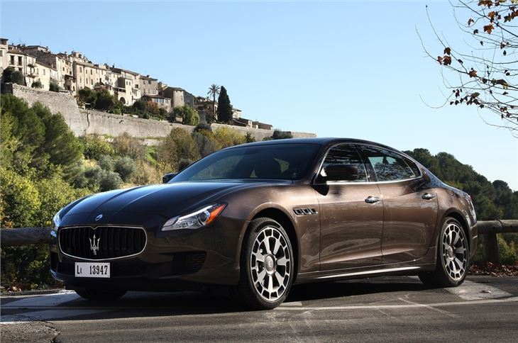 maserati quattroporte 2013 car review honest john. Black Bedroom Furniture Sets. Home Design Ideas