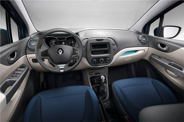 Renault Captur Interior Renault Captur Interior