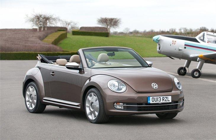 volkswagen beetle cabriolet 2013 car review honest john. Black Bedroom Furniture Sets. Home Design Ideas