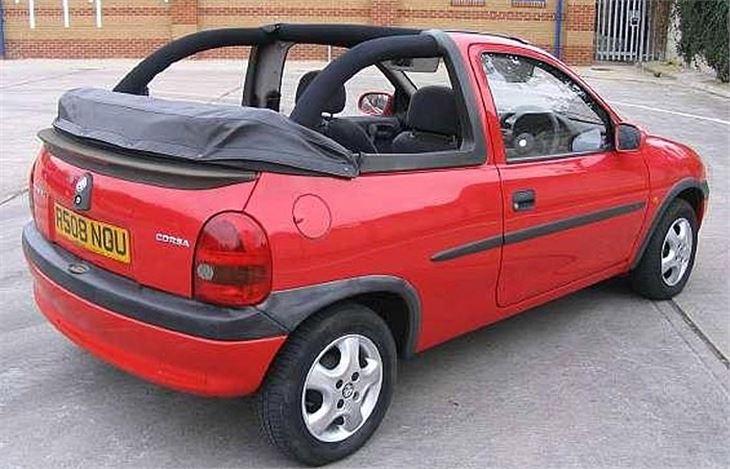 vauxhall corsa b 1993 car review honest john. Black Bedroom Furniture Sets. Home Design Ideas