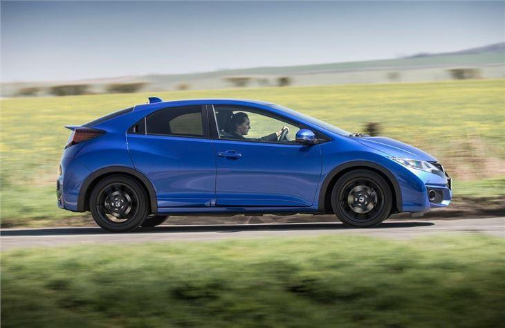 Honda civic 1 6 i dtec sport 2015 road test road tests for How much to lease a honda civic
