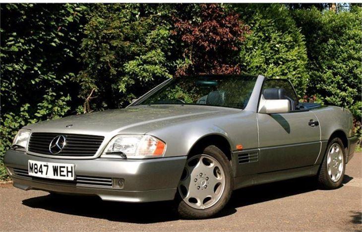 Mercedes benz sl r129 classic car review honest john for Mercedes benz model history