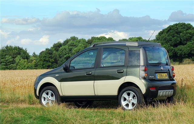 fiat panda 4x4 2005 car review honest john. Black Bedroom Furniture Sets. Home Design Ideas