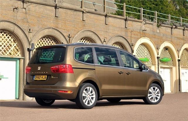 seat alhambra  car review honest john