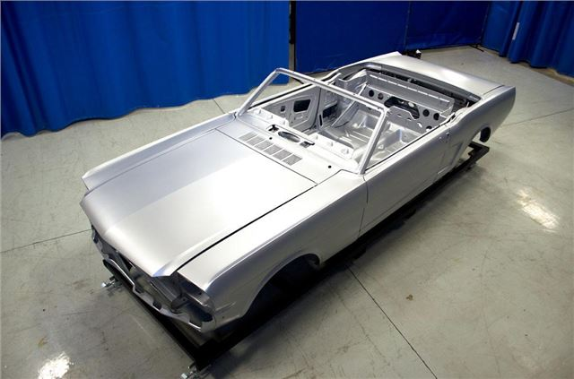 build your own 39 new 39 1960s ford mustang motoring news honest john. Black Bedroom Furniture Sets. Home Design Ideas