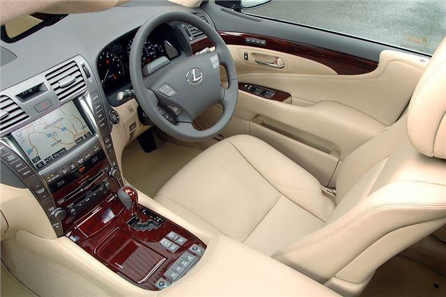 lexus ls460 2006 car review honest john. Black Bedroom Furniture Sets. Home Design Ideas