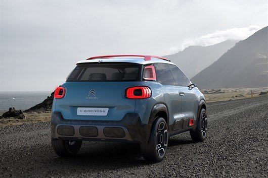geneva motor show 2017 citroen c3 aircross concept previews new c3 picasso motoring news. Black Bedroom Furniture Sets. Home Design Ideas