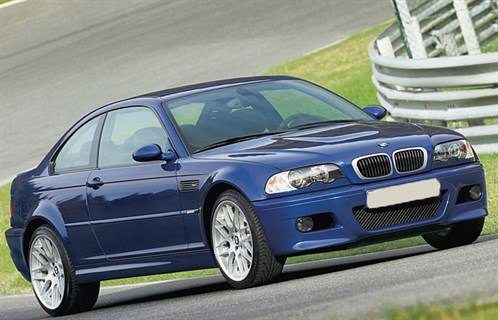 BMW E46 M3 CS F34 Retouched