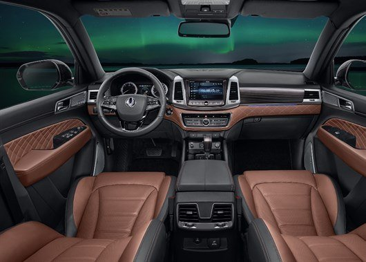 New Rexton - Main Dash