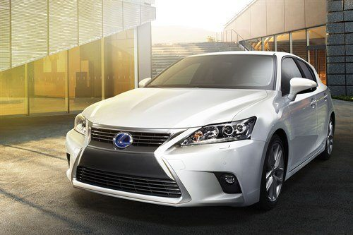 Lexus CT200h 2014 Facelift F34