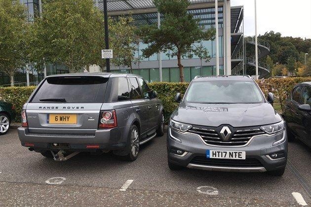 Renault Koleos V Range Rover Sport Rears
