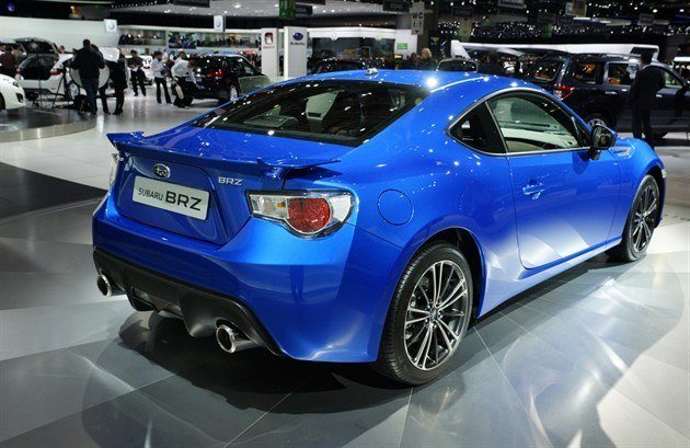 subaru launches brz coupe motoring news honest john. Black Bedroom Furniture Sets. Home Design Ideas