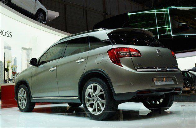 geneva motor show 2012 citroen unveils c4 aircross motoring news honest john. Black Bedroom Furniture Sets. Home Design Ideas