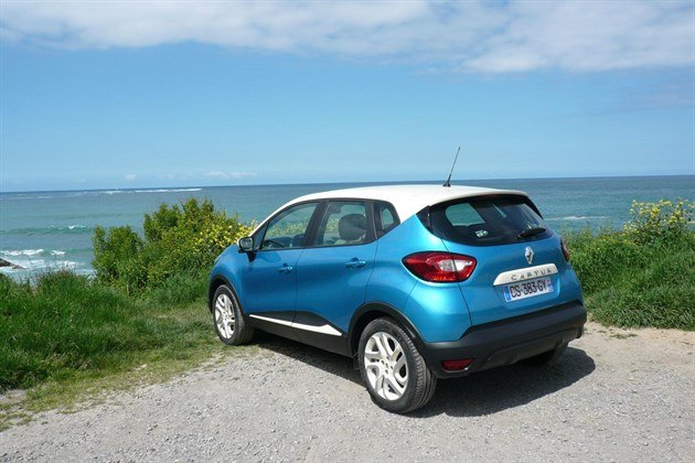 Renault Captur Colours g Renault Captur R34 Blue