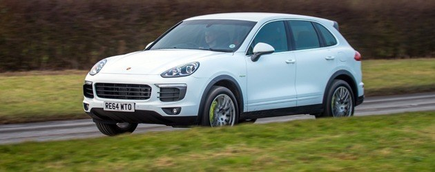 Ultra-efficient Porsche Cayenne tested